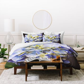Allyson Johnson Hydrangea Flower Duvet Cover