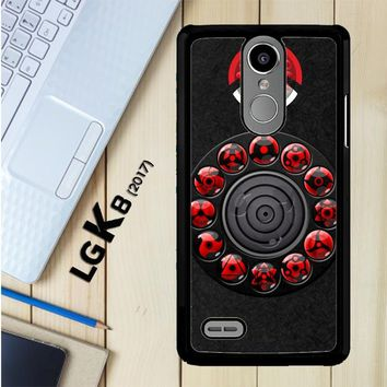 Sharingan Circle And Rinnegan Z2159 LG K8 2017 / LG Aristo / LG Risio 2 / LG Fortune / LG Phoenix 3 Case