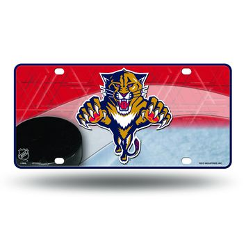 Florida Panthers NHL Metal License Plate 12x6 Auto Tag FREE US SHIPPING
