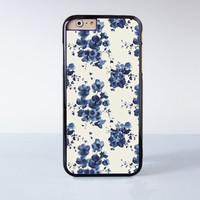 Chinese Water Color Flower Painting  Plastic Case Cover for Apple iPhone 6 6 Plus 4 4s 5 5s 5c