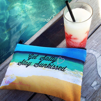 Get Salty Stay Sunkissed Clutch