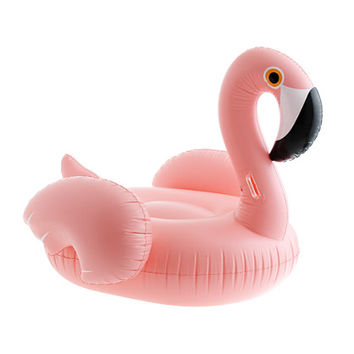 J.Crew Womens Sunnylife Really Big Inflatable Flamingo Pool Float
