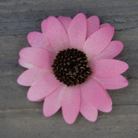 12pc - Soft Pink Pallet Wood Daisy