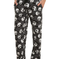 The Nightmare Before Christmas Jack Heads Bats Guys Pajama Pants