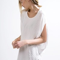 adidas Overlay Dolman Tee - Urban Outfitters