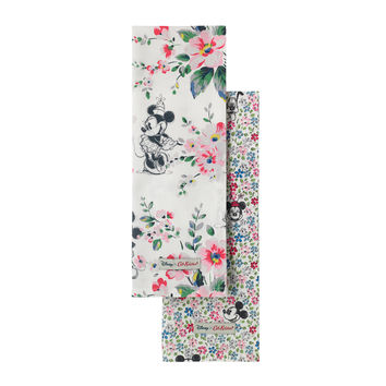 Mickey and Minnie Bouquet Set of 2 Tea Towels | Disney x Cath Kidston View All | CathKidston
