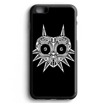 Custom Case Sugar Skull Majora Mask for iPhone Case & Samsung Case