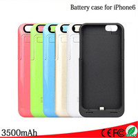 350000mAh For iPhone 6 External Portable Battery Backup Charging Bank Power Case Cover For iPhone6