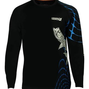 Men's Tarpon Web Vented L/S UV Fishing Shirt