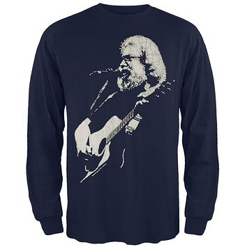 Jerry Garcia - Acoustic Long Sleeve T-Shirt