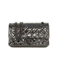 Chanel Silver Mirror 2.55 Re-Issue Double Flap Bag RHW