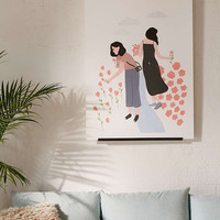 Tallulah Fontaine Sisters Art Print - Urban Outfitters
