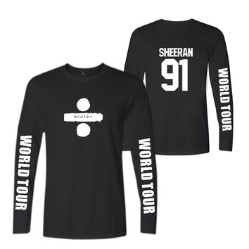 KPOP BTS Bangtan Boys Army  autumn and winter hot men and women ed sheeran fashion pattern printing fashion trend casual warm long-sleeved shirt XXS-4XL AT_89_10