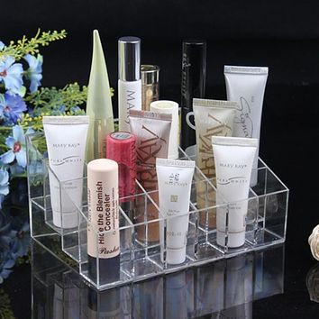 Makeup Organizer, Display Stand, Clear Acrylic
