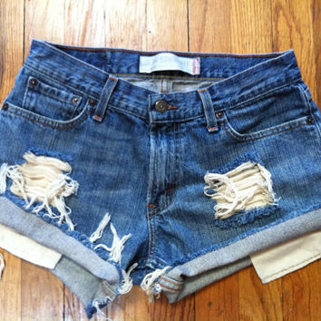 Custom Levi shorts size 30
