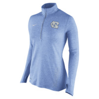 Nike College Stadium Element Half-Zip (UNC) Women's Running Top Size Large