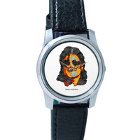 Team Jackson Pop Art Wrist Watch