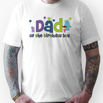 Monsters Inc Dad of the birthday boy Unisex T-Shirt