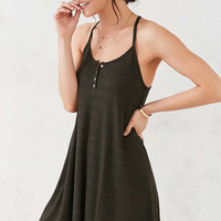 BDG Button-Up Strappy Frock Dress - Urban Outfitters