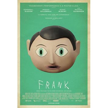 Sale! Frank Movie poster 24inx36in Poster