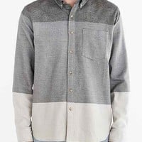 Jed & Marne Quartz Colorblocked Button-Down Shirt