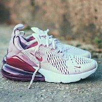 Free shipping-Nike Air Max 270 Tide brand casual sports running shoes
