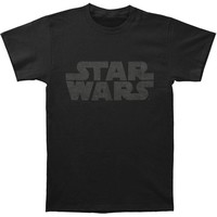 Star Wars Men's  Simplest Logo T-shirt Twilight