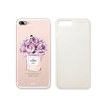 Perfume Flower Slim Iphone 7PLUS Case, Clear Iphone Hard Cover Case For Apple Iphone 7PLUS Emerishop (iphone 7 plus)