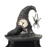 Wicked Web Witch's Hat and Spider : Jar Candle Topper : Yankee Candle