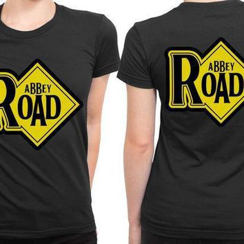 Abbey Road Plank 2 Sided Womens T Shirt