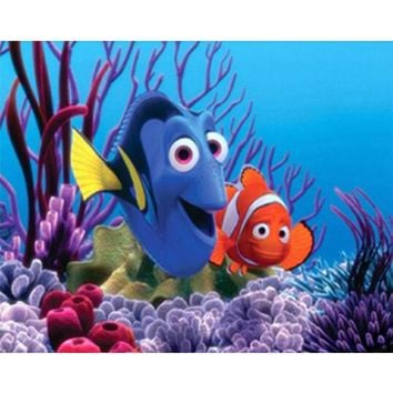 5D Diamond Painting Nemo & Dory Kit