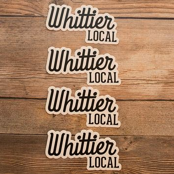 WHITTIER LOCAL MAGNET