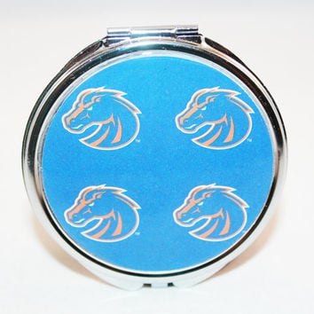 Boise State University Compact Mirror