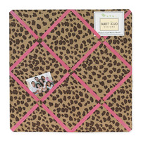 Sweet Jojo Designs Cheetah Pink Collection Memo Board