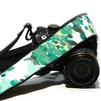 Camera Strap. Green Polka Dot Camera Strap. DSLR SLR Camera Strap. Purple Pink Camera Strap. Camera Strap. Electronics & Accessories