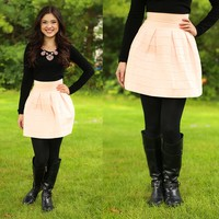 The Bold & The Beautiful Skirt in Blush