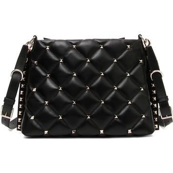 VALENTINO GARAVANI Candystud Quilted Leather Shoulder Bag | Nordstrom