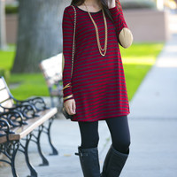 Harlowe Elbow Patch Tunic
