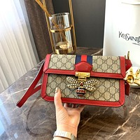 GUCCI Queen Margaret GG Supreme shoulder bag