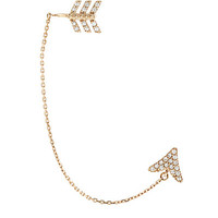Bee Goddess Eros Diamond Ear Cuff
