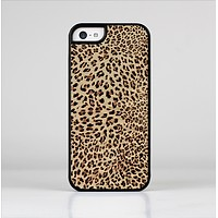 The Brown Vector Leopard Print Skin-Sert Case for the Apple iPhone 5c