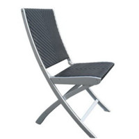Marion Folding Side Chair (All Weather Wicker)
