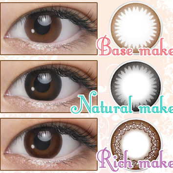SEED Eye Coffret 1 Day UV Rich Make (Choco) Circle Lens