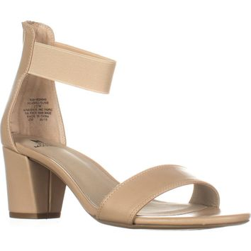 White Mountain Elinie Ankle Strap Dress Sandals, Sand, 9.5 US