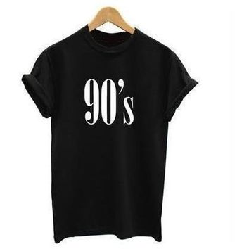 """90's  Girl"" Casual T-Shirt 