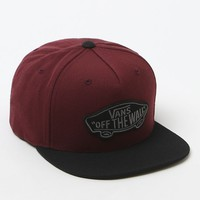 Vans Classic Off The Wall Patch Hat - Mens Backpack - Red - One