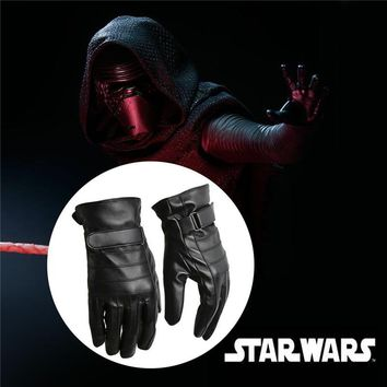 Star Wars Force Episode 1 2 3 4 5 Takerlama Kylo Ren Gloves Sith  the Force Awakens Episode VII Halloween Costume On Sale AT_72_6