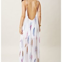 Blu Moon U Back Maxi Dress