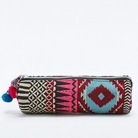 Multi-Print Tapestry Pencil Case - Urban Outfitters