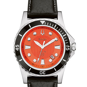 Bulova Men's Marine Star Strap Watch 98B132